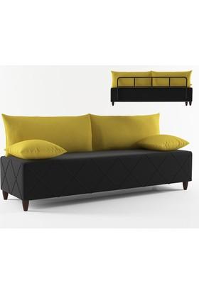 Sline Kanepe Siyah-Sarı