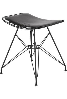 Ak Sandalye Kafesli Metal M6 Tabure