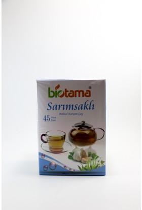 Biotama Bitkisel Karışımlı Sarımsaklı Çay 81 gr 45 Süzen Poşet