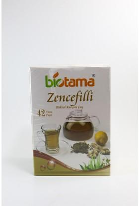 Biotama Bitkisel Karışımlı Zencefilli Çay 84 gr 42 Süzen Poşet