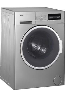 Vestel Hızlı 9812 TGE A+++ 9 Kg 1200 Devir Gümüş Çamaşır Makinesi