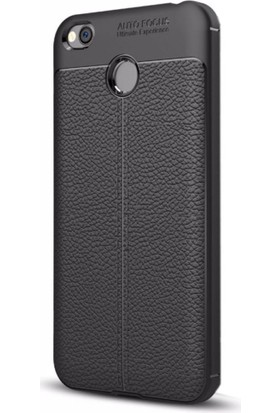 Case 4U Xiaomi Redmi 4X Kılıf Darbeye Dayanıklı Niss Siyah