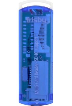 Frisby FCR-40P Taşınabilir USB 2.0 Kart Okuyucu