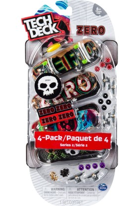 Tech Deck Dörtlü Paket