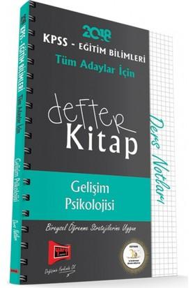 Yargı Yayınları 2018 Kpss Eğitim Bilimleri Tüm Adaylar İçin Defter Kitap Gelişim Psikolojisi Ders Notları