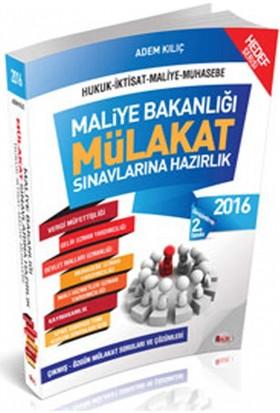 Maliye Bakanlığı Hedef Serisi Mülakat Sınavlarına Hazırlık Soru Bankası Hür Yayınları