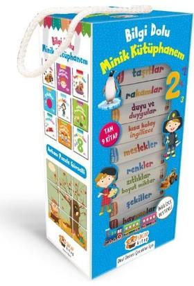 İngilizce Destekli Bilgi Dolu Minik Kütüphanem (9 Kitap - Mavi Kutu)