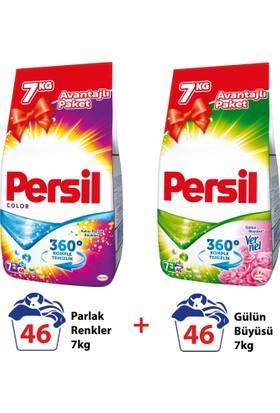 Persil Toz Çamaşır Deterjanı Gülün Büyüsü 7 Kg + Renkli 7 Kg