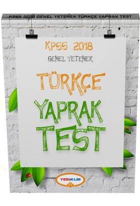 2018 Kpss Genel Yetenek Türkçe Çek Kopart Yaparak Test