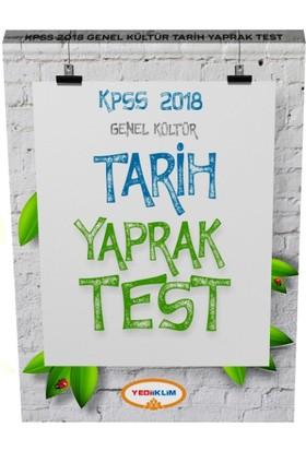 2018 Kpss Genel Kültür Tarih Çek Kopart Yaprak Test
