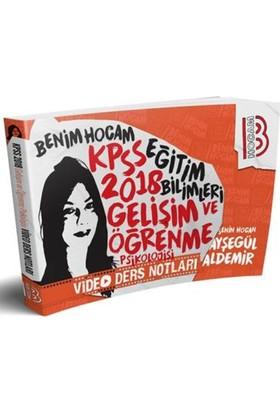 2018 Kpss Eğitim Bilimleri Gelişim Ve Öğrenme Psikolojisi Video Ders Notları Benim Hocam Yayınları