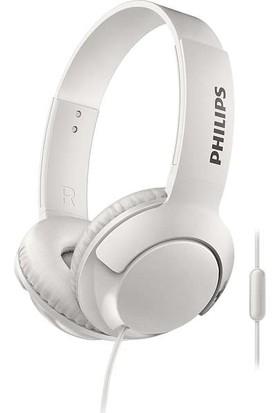 Philips Bass+ SHL3075WT_00 Mikrofonlu Beyaz Kulaklık