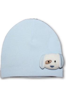 Bibaby Köpekçikli Penye Erkek Bebek Şapka
