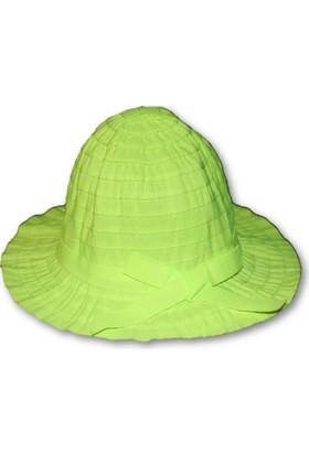 Monna Rosa Kız Çocuk Şapka - Yeşil
