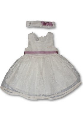 Monna Rosa Tül Kız Bebek Elbise