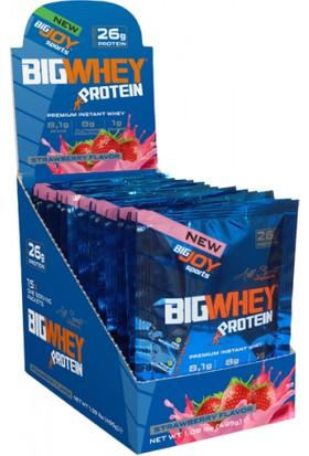 Bigjoy Bigwhey Çilek 15 Servis