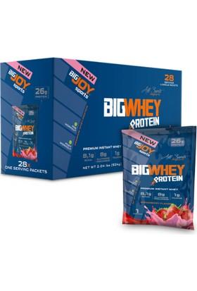 Bigjoy Bigwhey Çilek 28 Servis