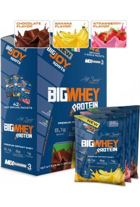 Bigjoy Bigwhey Mix-3 (Çikolata-Muz-Çilek) 42 Servis