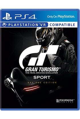 Gran Turısmo Sport Day One Edıtıon PS4 Oyun