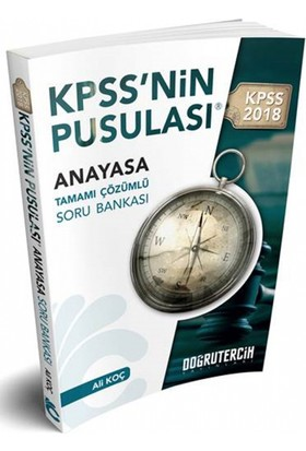 2018 Kpss Nin Pusulası Vatandaşlık Soru Bankası Doğru Tercih Yayınları