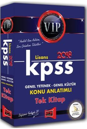 2018 Kpss Vıp Genel Yetenek Genel Kültür Konu Anlatımlı Tek Kitap Yargı Yayınları