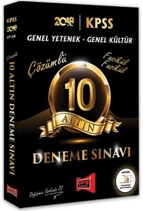 Yargı Yayınları 2018 Kpss Genel Kültür Genel Yetenek 10 Altın Fasikül Fasikül Çözümlü Deneme Sınavı
