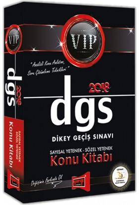 Yargı Yayınları 2018 Dgs Vıp Sayısal - Sözel Yetenek Konu Kitabı