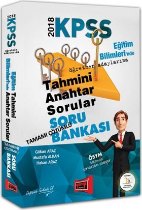 Yargı Yayınları 2018 Kpss Eğitim Bilimleri Tahmini Anahtar Sorular Tamamı Çözümlü Soru Bankası