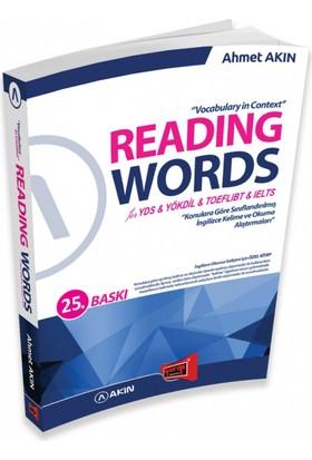 Yargı Yayınları Reading Words For Yds Yökdil Toefl İbt Ielts 25. Baskı