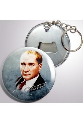 Anahtarlıklı Açacak Atatürk Modelleri 10 adet