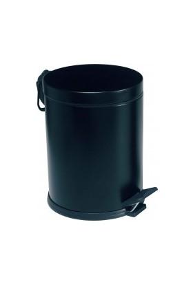 Modatools 5 Lt Pedallı Çöp Kovası Siyah 15629