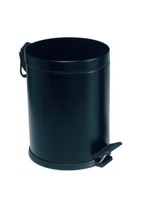 Modatools 12 Lt Pedallı Çöp Kovası Siyah 15635