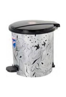 Modatools Pedallı Çöp 2 No Metalize 5172
