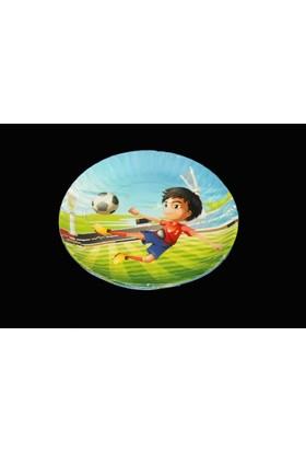 Modatools Karton Tabak 18 Cm 6 Lı Futbol 11999