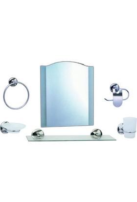 Modatools Ayna Set Krom 15726