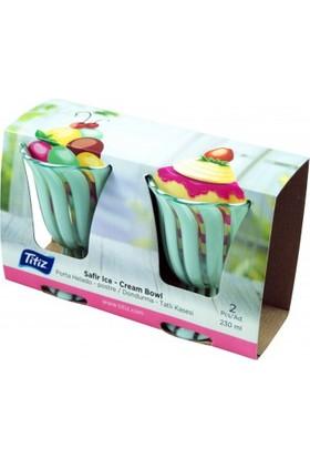 Modatools Plastik Kase 2 Li Dondurma&tatlı 230 Ml 15185