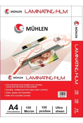 Mühlen A3 Laminasyon Filmi 125 Micron 1 Paket 100 Adet