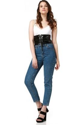 Bsl Fashion Siyah Korse 9284
