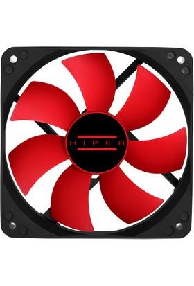 Hiper HF-12 12CM Kırmızı Kasa Fanı