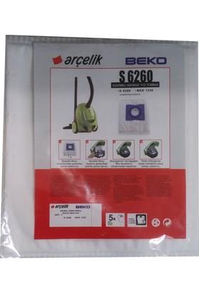 Beko BKS 1330 Elektrikli Süpürge Uyumlu Sentetik Toz Torbası