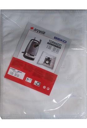 Arçelik S 4910 Elektrikli Süpürge Uyumlu Sentetik Toz Torbası