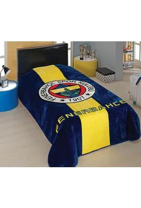 Merinos Tek Kişilik Fenerbahçe Lisanslı Vizon Battaniye