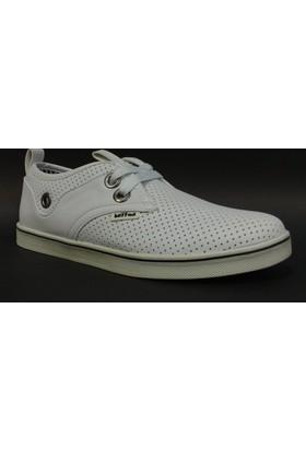 Buffon 2705 Beyaz Bağcıklı Casual Spor Ayakkabı