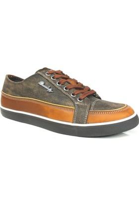 Owundys 41031 Kahverengi Taba Casual Erkek Ayakkabı