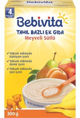 Bebivita Meyveli Sütlü Tahıl Bazlı Kaşık Maması 300 gr