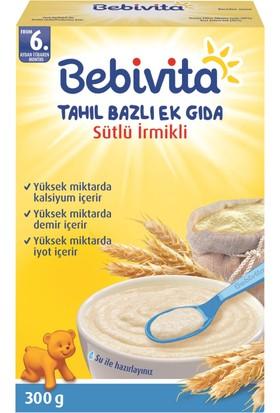 Bebivita Sütlü İrmikli Tahıl Bazlı Kaşık Maması 300 gr