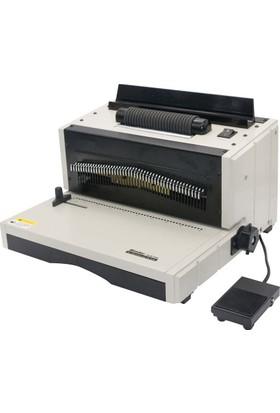 Sarff Es2002 Elektrikli Helezon Makinesi