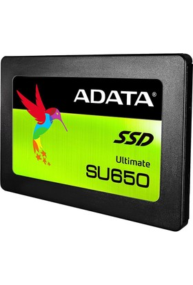 """Adata Ultimate SU650 120GB 520MB-320 MB/s Sata 3 2.5"""" 3D NAND SSD ASU650SS-120GT-C"""