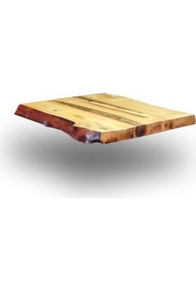 SZN Wood Kütük Masa Ceviz Pena 81x72cm