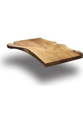 SZN Wood Kütük Masa Ceviz Hera 135x70cm